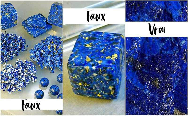 reconnaitre vrai lapis lazuli