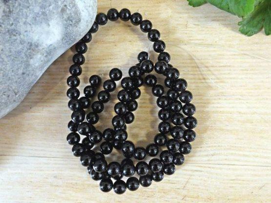 perles tourmaline naturelle 8mm