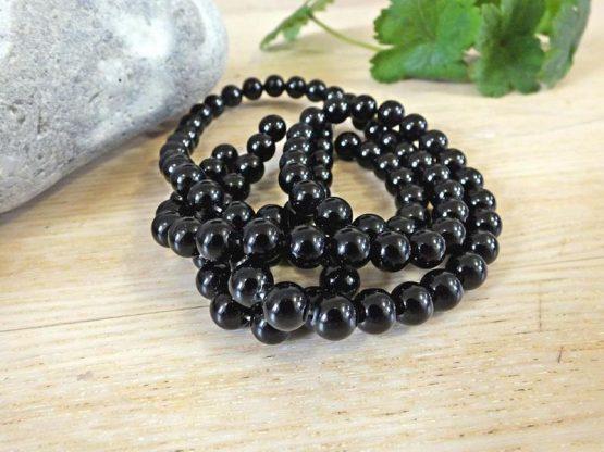 perle onyx noir