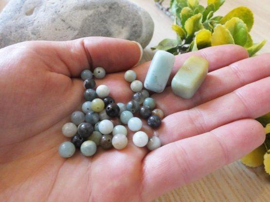 amazonite perle 6mm