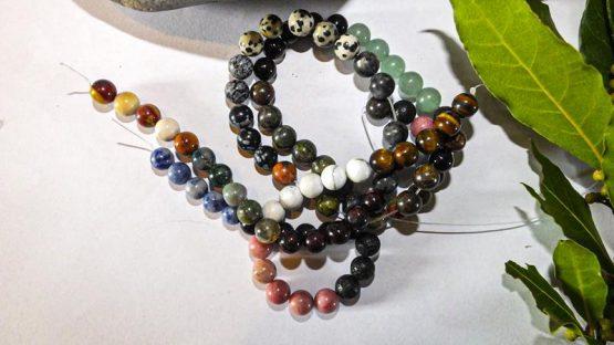 perles en pierre naturelle