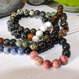 perle pierre naturelle