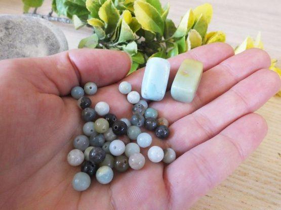 perle d amazonite 6mm