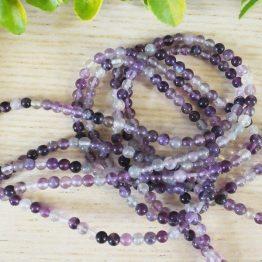 fluorite violette perles