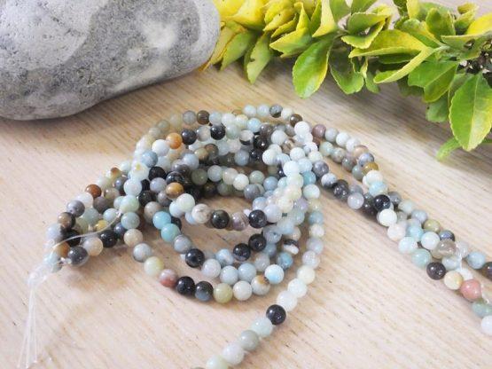 perles amazonite