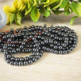 perle d hématite 6mm