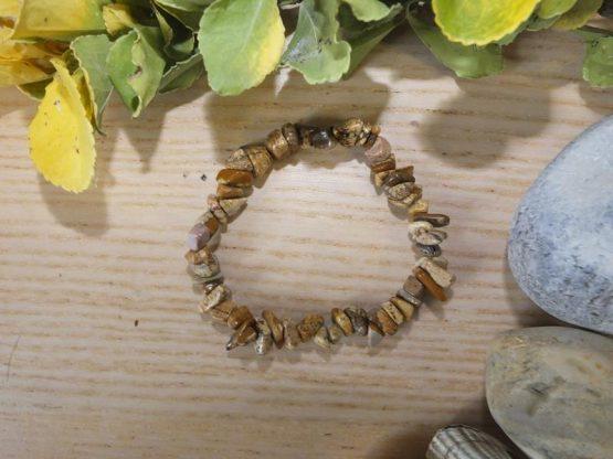 jaspe paysage bracelet