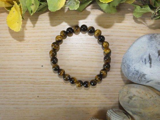 bracelet perle oeil de tigre