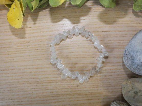 bracelet cristal de roche femme