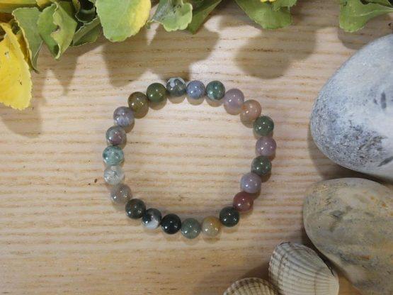 bracelet agate perles