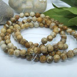 6mm perles jaspe paysage