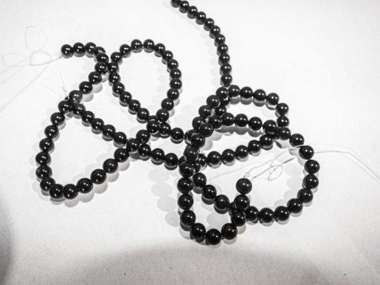 tourmaline noir perles