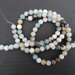 perle d amazonite 8m