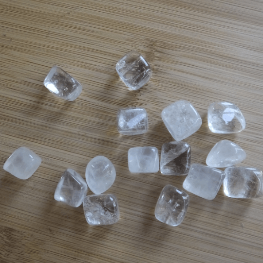 pierres roulées cristal de roche