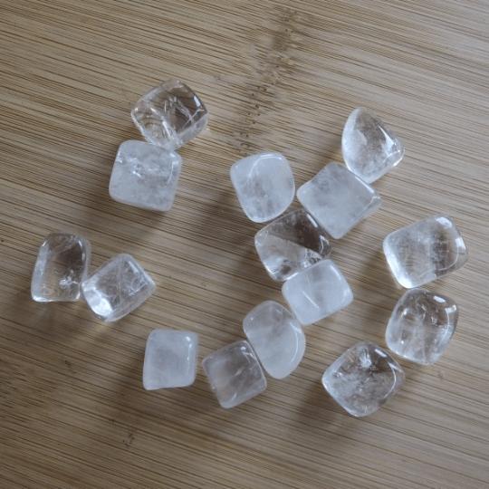 cristal de roche pierre roulée