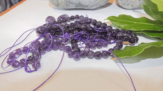 perles ametis pierre 6mm