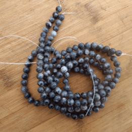 perles pierre spectrolite 8mm