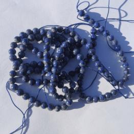 perle de lapis lazuli