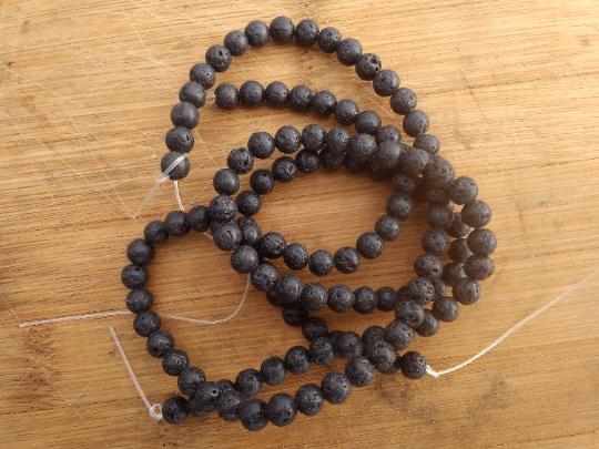 pierre de lave perle 6mm