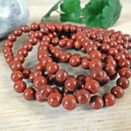 perle jaspe rouge 8mm