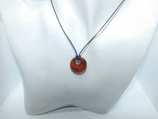 jaspe rouge pendentif