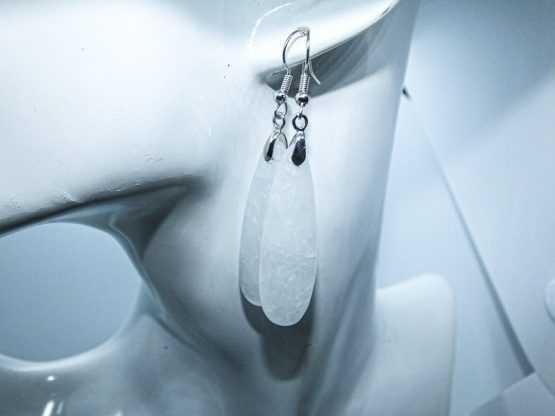 boucle d oreille cristal de roche