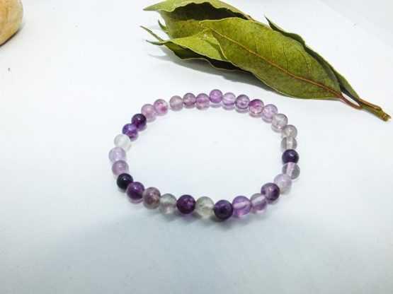 bracelet fluorine violette