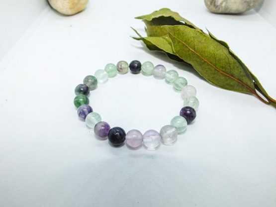 fluorine bracelet de perles