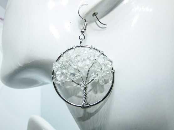 boucle d oreille arbre de vie