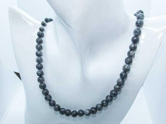 labradorite spectrolite collier de perles