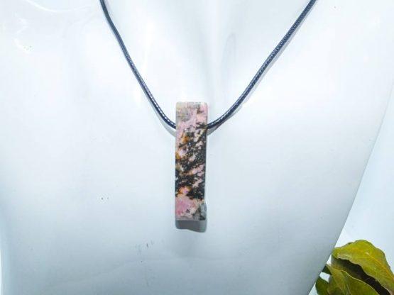 rhodonite pendentif