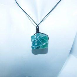 fluorite verte pendentif