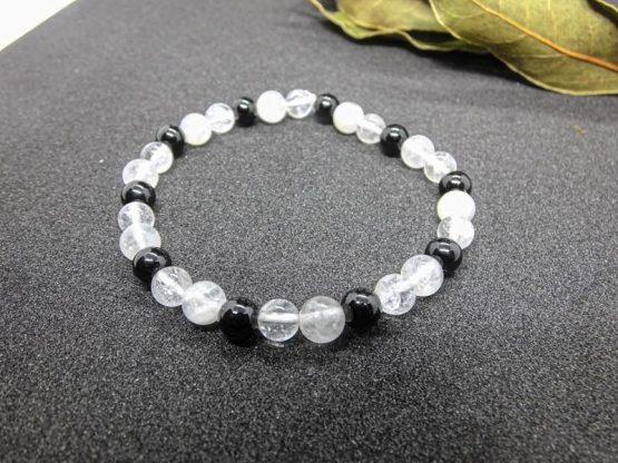 bracelet lithothérapie deuil