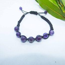bracelet pierre amethyste