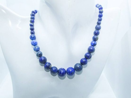 collier lapis lazuli veritable