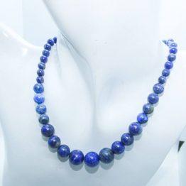 collier pierre lapis lazuli naturel