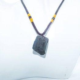 collier tourmaline noire