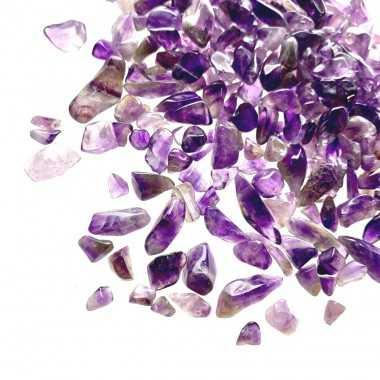 petits cristaux d'améthyste
