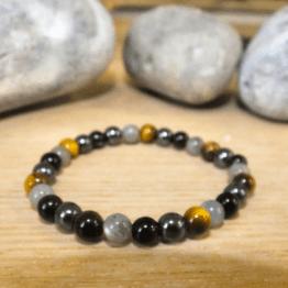 bracelet homme pierre protection
