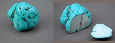 fausse turquoise