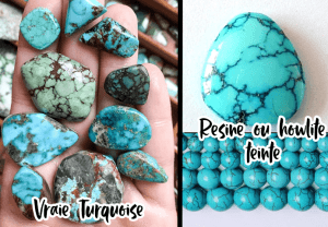 turquoise vraie ou fausse