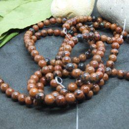 obsidienne mahogany perles 6mm