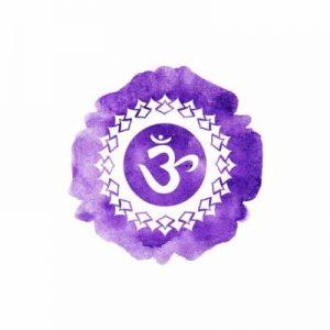chakra couronne violet