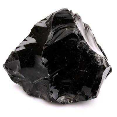 Obsidienne noire brute