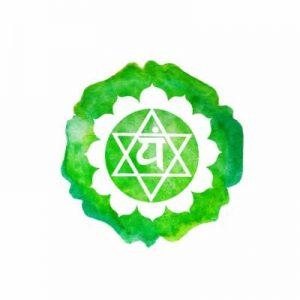 chakra du coeur vert